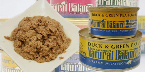 ナチュラルバランス ウルトラプレミアムキャット缶フード ダック&グリーンピース